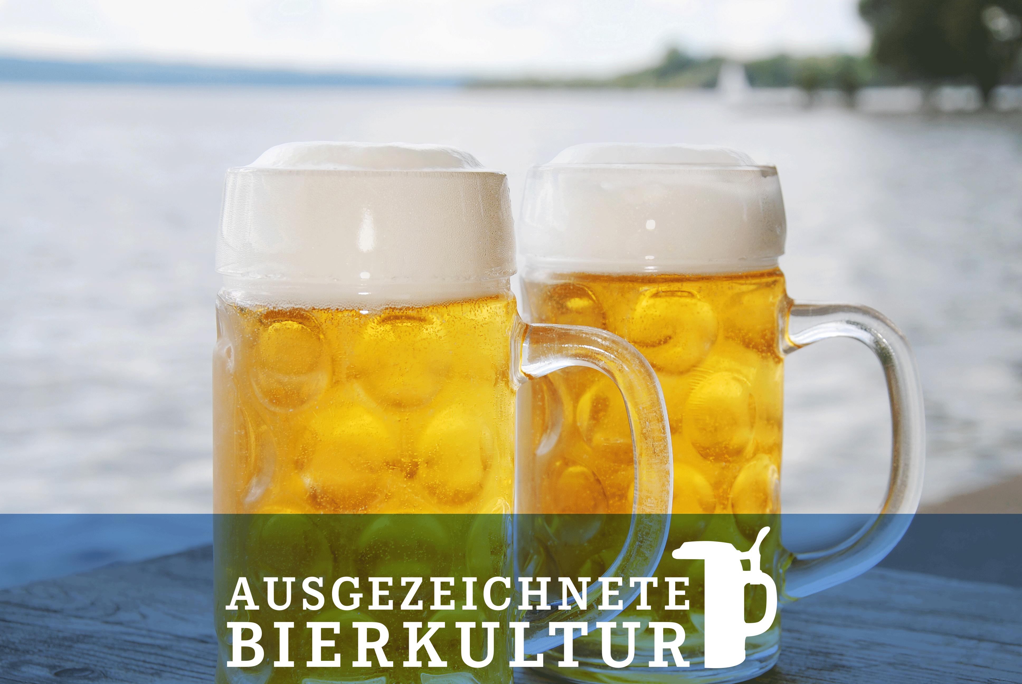 Ausgezeichneter Bayerischer Biergenuss, Ausgezeichnete Bayerische Küche