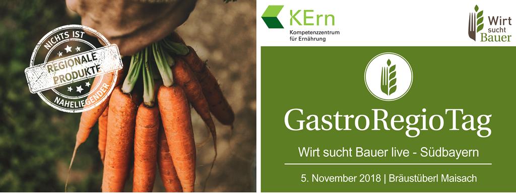 Programmflyer des GastroRegioTag 2018